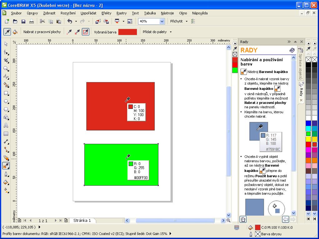 Představení české verze coreldraw graphics suite x5 (15) v praze