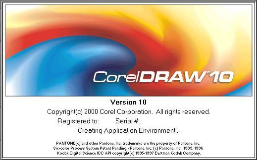 corel draw 10 free download with serial key